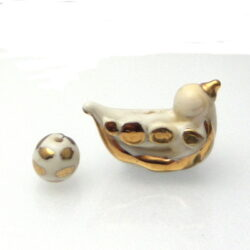 Lampwork Brid Focal Glass bead