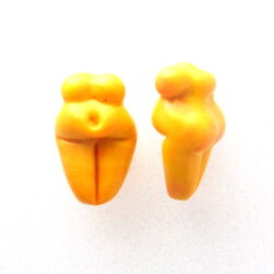 mini goddess earring paur beads