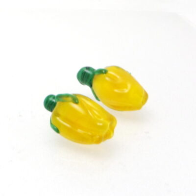{assion Yellow Flower buds lampwork